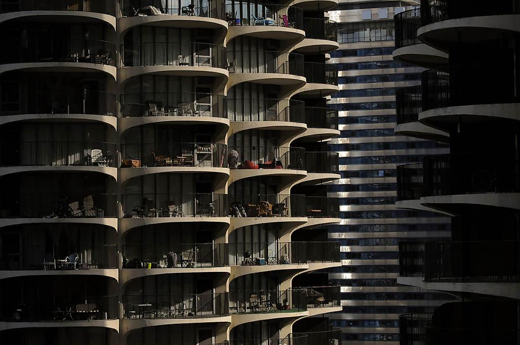 Chicago Skyline Marina Towners photo by Chris Ocken